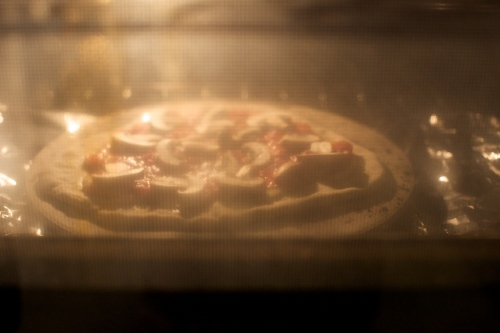 The pizza in the nuclear oven